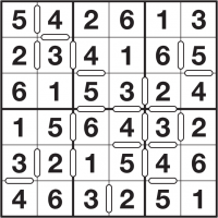 photograph regarding 6x6 Sudoku Printable called : Consecutive Sudoku directions and no cost