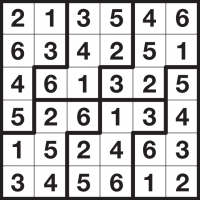 picture relating to Jigsaw Sudoku Printable known as : Jigsaw Sudoku directions and free of charge Jigsaw
