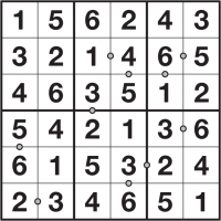 puzzlemix com: Odd Pair Sudoku instructions and free Odd