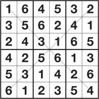 puzzlemix com: Sudoku-X instructions and free Sudoku-X
