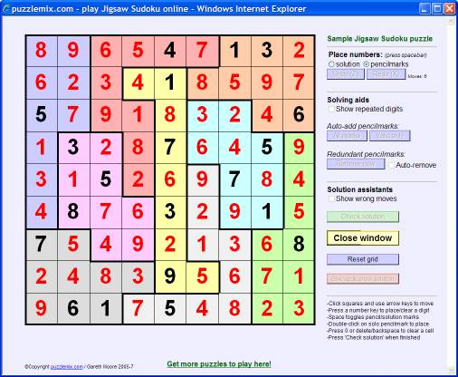 image about Jigsaw Sudoku Printable known as : How in the direction of address Jigsaw Sudoku puzzles